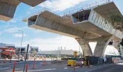 Center Line Bridge Construction in Navi Mumbai