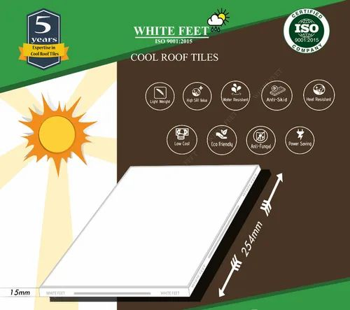 Whitefeet Cool Roof Tile