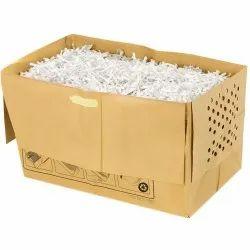 White Shredder Cutting Paper