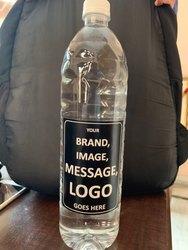 Plastic Round Custom Drinking Bottle