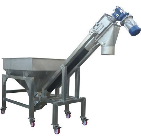 Stainless Steel And Plastic Electric Screw Conveyor , Voltage (Volt) : 220 V AC