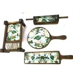 Urban Krafts Wooden Serving Platter Set