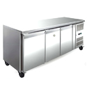 Spl SS 3 Door Table Top Freezer