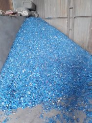 Hdpe Blue Drum Scrap, For Reprocessed Granules