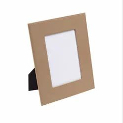 Brown Leather Picture Photo Frame
