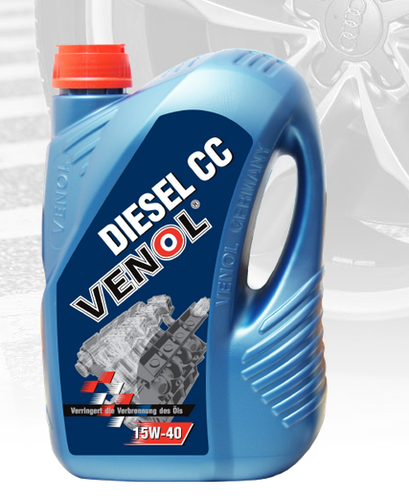Poważne Venol Diesel Cc Oil 15w 40, Oils, Grease & Lubricants | Venol PK33