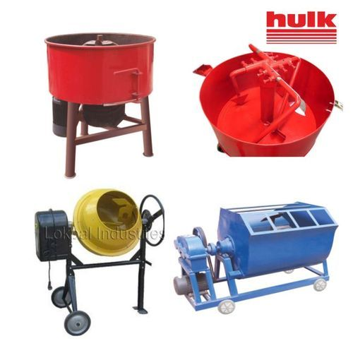 Construction Equipments - Pan Concrete Mixer Manufacturer from New Delhi