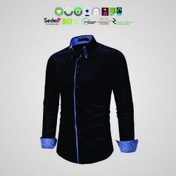 BCI cotton Mens full sleeve Shirts
