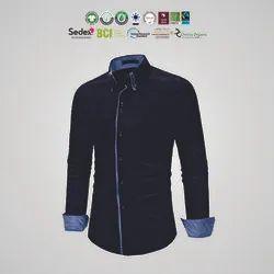 Organic cotton Mens shirts Manufacturer