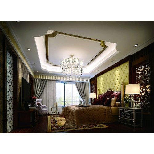 FRP Durable Coating Living Room False Ceiling, Rs 65