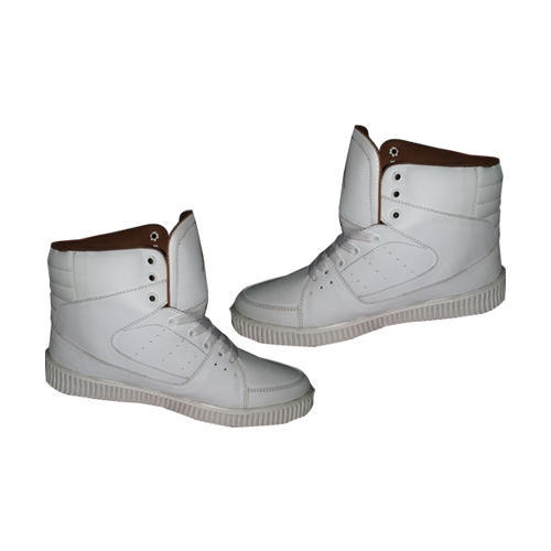 7821e5479fa8 Men White Party Wear Casual Shoes, Size: 6 To 10, Rs 425 /pair   ID ...