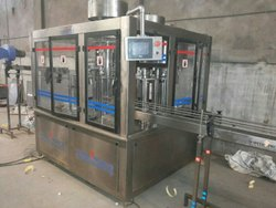 Rotary Rinser Filler Capper Machine