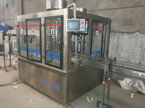 Rotary Rinser Filler Capper Machine
