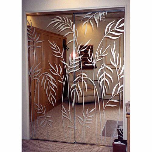 Designs On Mirror - Printed Glass Door Mirror Manufacturer ...