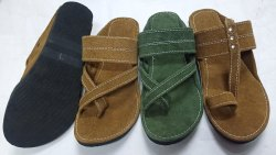 Mens Leather Kolhapuri Chappal