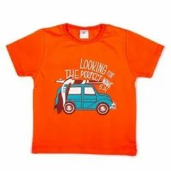 Weeboy Cotton Sinker Baby Printed T Shirt, Size: 6 Months - 3 Years