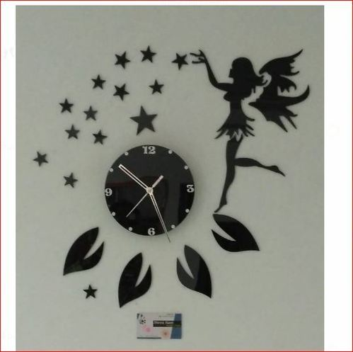 Rembert White And Blue Craft Design Wall Clock Id 16928907797