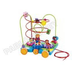 Pull Along Wire Beads - Kids Toy