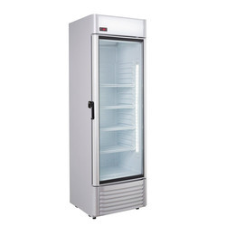 Single Glass Door Upright Chiller