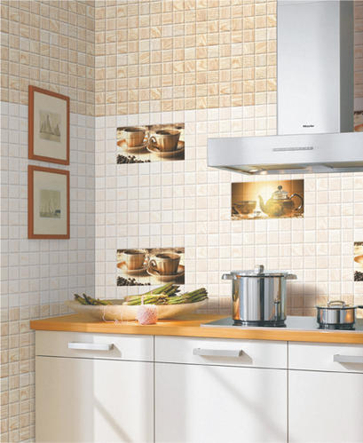 Digital Ceramic 300x600 Kitchen Wall Tiles Thickness 10