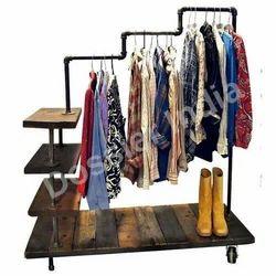 Stainless Steel Hanging Garment Shelves
