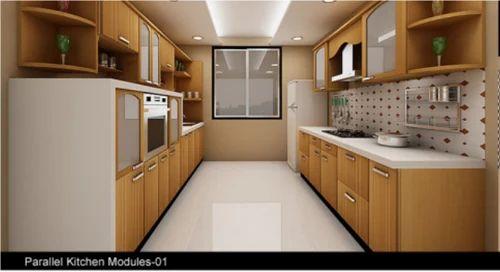 Parallel Kitchen Design 01