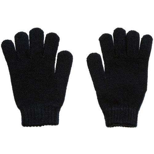 db6eb521a Full Finger Knitted Black Hand Gloves, Rs 5.5 /piece, Hi-Tech ...