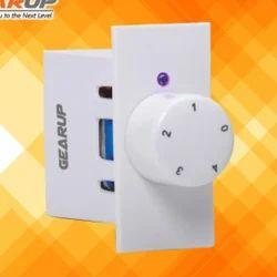 GEARUP Polycarbonate 4 Step LED Modular Fan Regulator