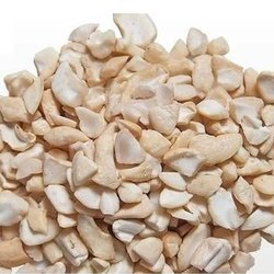SLNE Organic Natural Broken LWP Split Cashew Nut, Packing Type: Tin, Pack Size: 10 kg