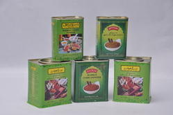Tin Containers for Spices Masala