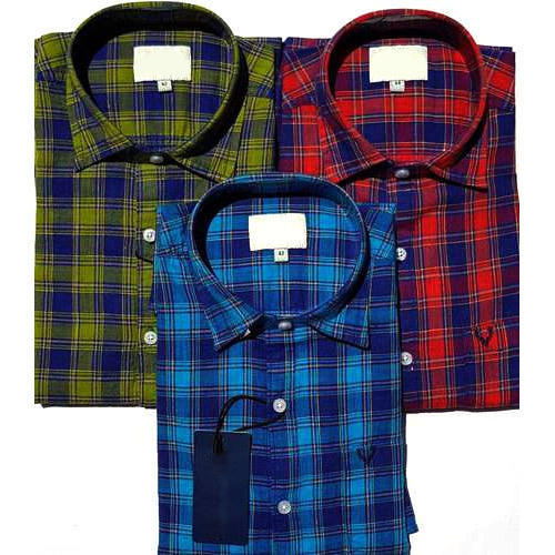 Men Check Shirts, Men Check Shirts - Pari Style Wear, Ludhiana ...
