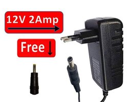 120 Power Adapter 12V 2Amp (2.5mm PIN) for DTH(TATA Sky,Dish,AIRTEL,VIDEOCON and More)
