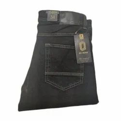 a1e598b514 Plain Skin Fit Mens Black Denim Jeans