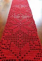 Knits n knots Crochet Table Runner