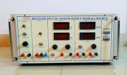K-PAS Multi Output DC Power Supply With DC mA Source
