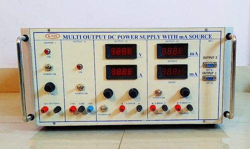 Multi Output DC Power Supply With DC mA Source