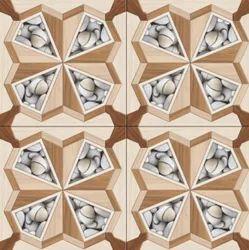 MARVELANO Glossy Floor Design With Tiles, Size: 60 X 60 cm