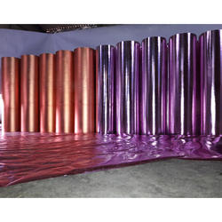 Coloured Metallic Non Woven Fabric