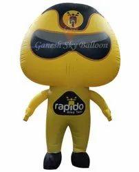 Rapido Advertising Walking Inflatables