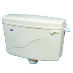 Claris Gold White ISI Flush Tank, for Toilet