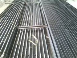 Black Guide Rails, Material: MS Imported