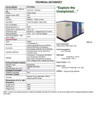 50 Hz E2P125(c) 125 KVA Ashok Leyland Gas Genset, Size: 3500*1500*1900(l*w*m In Mm)