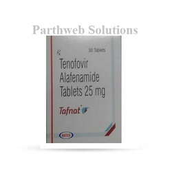 Tafnat 25mg tablets