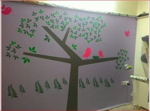 Bedroom Wall Painting Designs u0026 Best Wall Paint Design Retailer from Mumbai & Bedroom Wall Painting Designs u0026 Best Wall Paint Design Retailer from ...