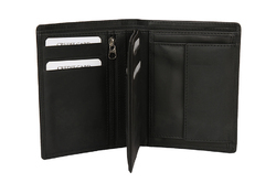 100% Genuine Vertical Leather Wallet