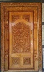 Mumtaz Furniture Wooden Carving Design Door