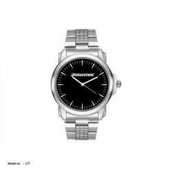 Custom Men & Women Metal Wrist Watch