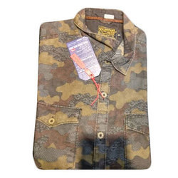 Printed Regular Fit Mens Designer Shirt