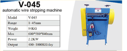 V-045 Automatic Wire Stripping Machine