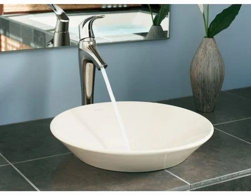 Kohler White Conical Bell Vessel Wash Basins